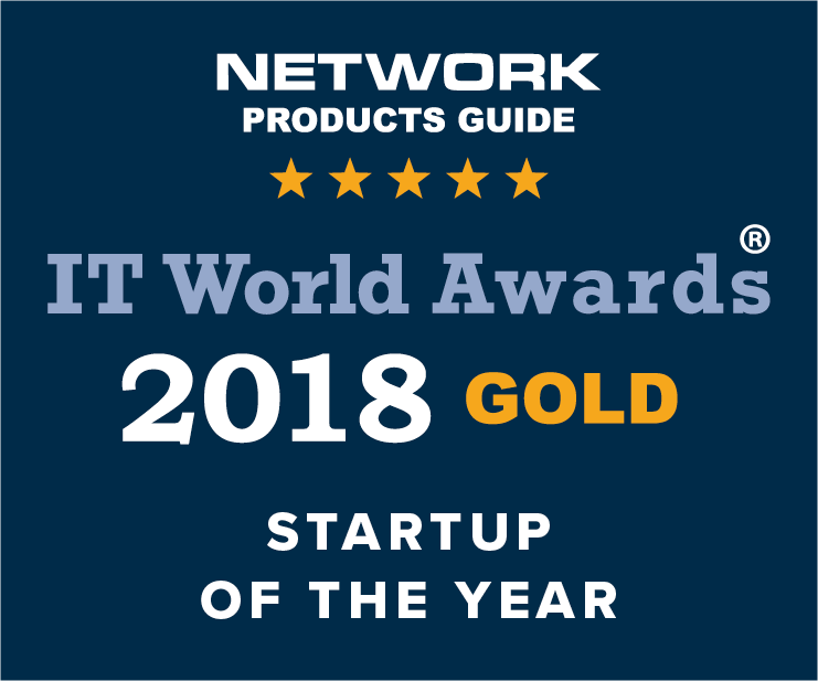 2018 IT World Awards Gold Winner Award Image