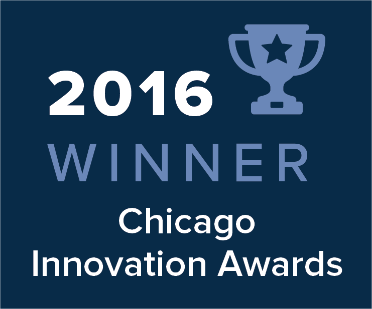 2016 Chicago Innovation Awards Winner Image