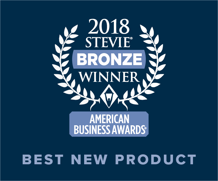 2018 Stevie Bronze Winner Image - Best New Product