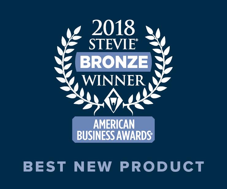2018 Stevie Bronze Winner Image - Best New Product