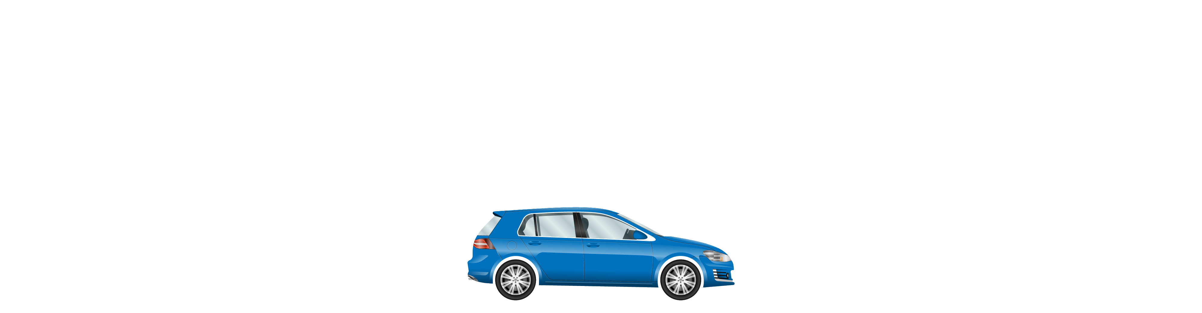 Car driving through City background image
